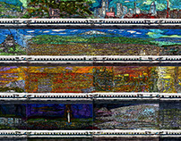 whole body of Tokaido Shinkansen panorama Series