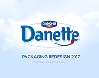 Danette ®   Packaging Redesign, 2017