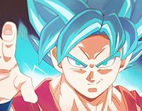 Goku: Super Saiyan God SS (超サイヤ人ゴッド超サイヤ人)