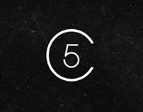 Class 5 Films logo design + bumper