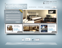 VizSource.com, The Rendering Company - redesign