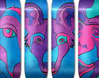 Endangered Series Skateboard Decks