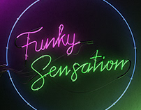 Funky Sensation Cover Artwork