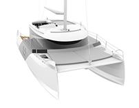 Catamaran 30 feet