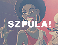 Szpula! party posters illustrations