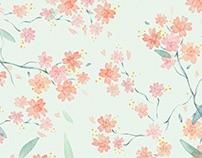 Spring Tumbler Illustration
