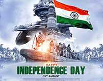 Independence Day INDIA Banner / Poster Design