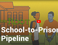 The Root - School to Prison Pipeline Animation