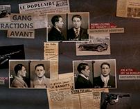 Habillage graphique Les Gangsters et la République