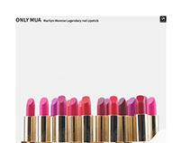 ONLY MUA Marilyn Monroe Lipstick Post