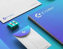 E-ridez brand design.