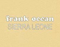 Frank Ocean - Sierra Leone