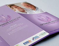 Alternative Medicine Roll Fold A4 Brochure