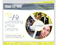 Friar Tux Shop : E-Blast Campaign