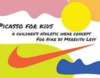 Picasso for Kids Athletic Concept