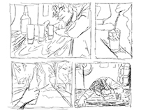 The Drunk Who Drowned in the Sink - Comics