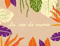 Animated Plants - La vie de Marie