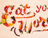 Condé Nast Food Type + Animation