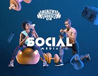 Gym Social media | Healthy House