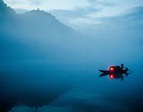 Fog diffuse XiaoDongJiang