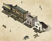 Isometric Western Game
