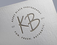 Kerry Black Photography Branding + Web