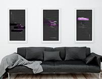 Design Manifesto Triptych Poster Series