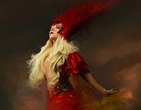 La Regina della Fenice Rossa