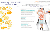 Working Class Studio Website