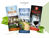 Tallis Wine - brochures