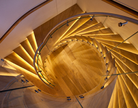 Royal Terrace Staircase // Groves-Raines Architects