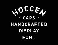 HOCCEN CAPS font project