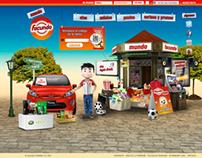 Mundo Facundo - Website/Mobile Web App