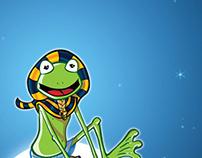 Egyptian frog