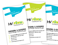 HV Power Concepts Brand Identity and Website