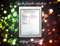 Kindle Web Ads