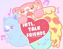 Podcast Identity - INTL. Talk Friends