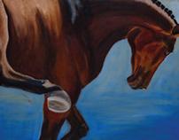 Equine Paintings & Pastels