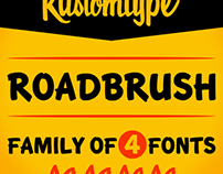 Roadbrush Font