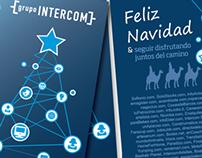 Diseño postal de navidad para {grupointercom}