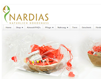 Website Nardias Kokosöl