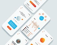 Winky - Communication at Work (Mobile App) | UX/UI