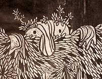Tryptic Spirit Prints