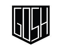 GOSH - bicycle parts logo