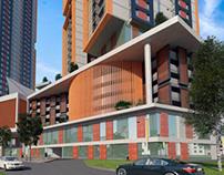 Proposed New Mix Used Development in Kuala Lumpur