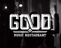 Айдентика. Good Music Restaurant. Киев
