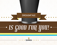 Guinness is good for you - Poster & User Manual
