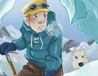 Tintin in Tibet Redraw