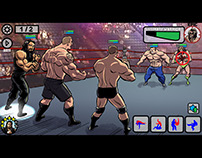 WWE EPIC Mobile Game pitch