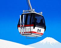 Annupuri Ski Poster